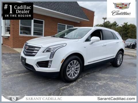 2017 Cadillac XT5 for sale at Sarant Cadillac in Farmingdale NY