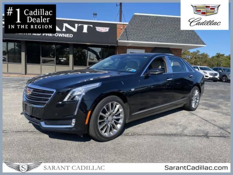 2018 Cadillac CT6 for sale at Sarant Cadillac in Farmingdale NY