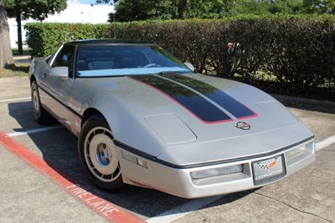 1986 Chevrolet Corvette For Sale In Dallas Tx