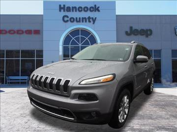 2017 Jeep Cherokee for sale in Newell, WV
