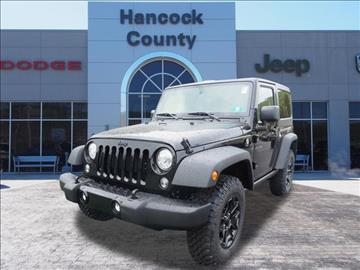 2017 Jeep Wrangler for sale in Newell, WV