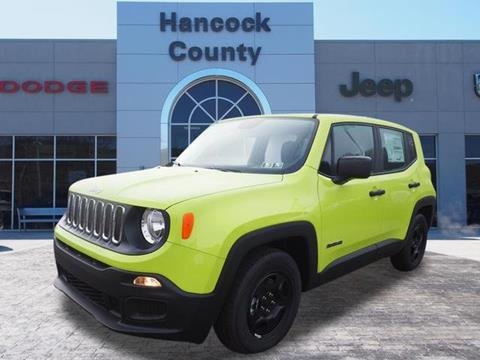 2017 Jeep Renegade for sale in Newell, WV