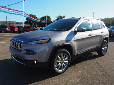 2018 Jeep Cherokee for sale in Newell, WV