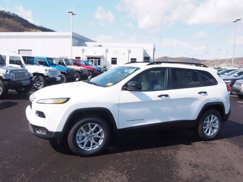 2016 Jeep Cherokee for sale in Newell, WV