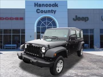 2017 Jeep Wrangler Unlimited for sale in Newell, WV