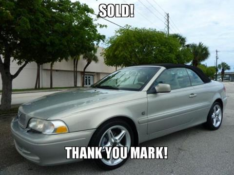 2002 Volvo C70 for sale in Fort Lauderdale FL