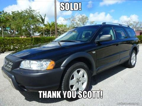 2005 Volvo XC70 for sale in Fort Lauderdale FL