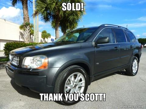 2005 Volvo XC90 for sale in Fort Lauderdale FL