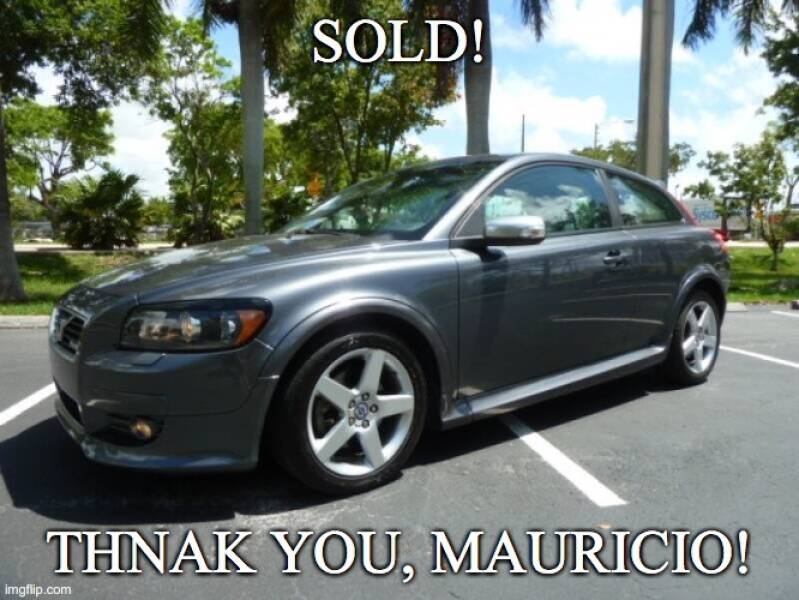 2008 Volvo C30 for sale at VehicleVille in Fort Lauderdale FL