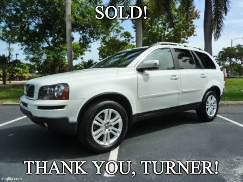 2012 Volvo XC90 for sale at VehicleVille in Fort Lauderdale FL