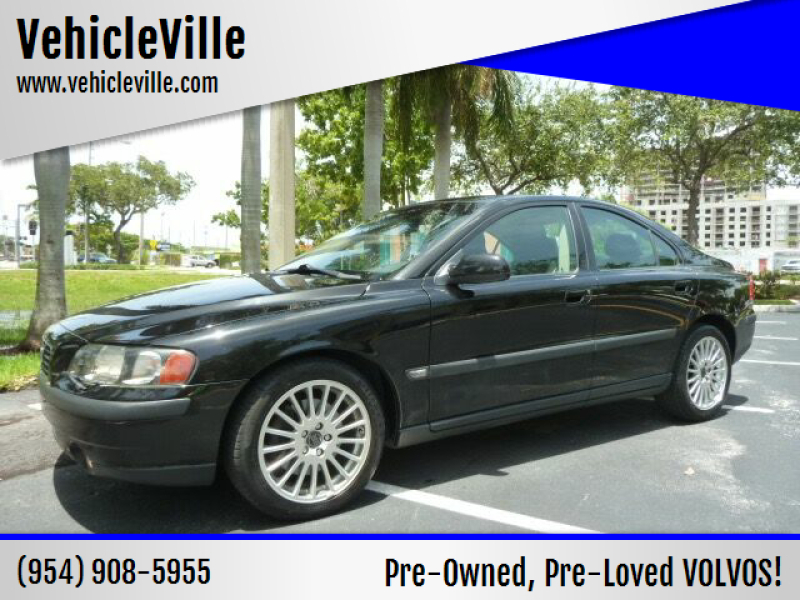 2001 Volvo S60 for sale at VehicleVille in Fort Lauderdale FL