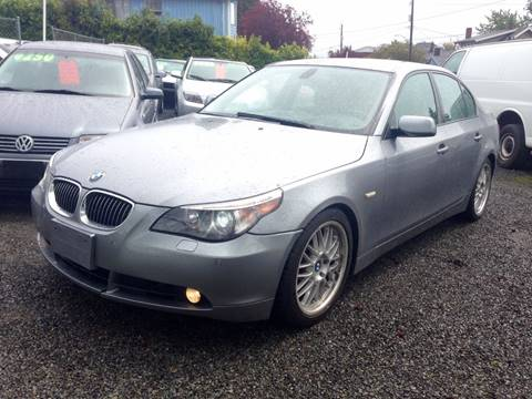 2004 BMW 5 Series for sale in Seattle, WA