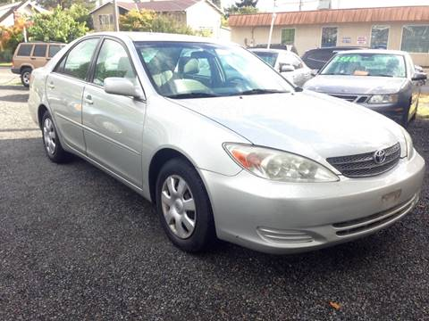 2002 Toyota Camry for sale in Seattle, WA