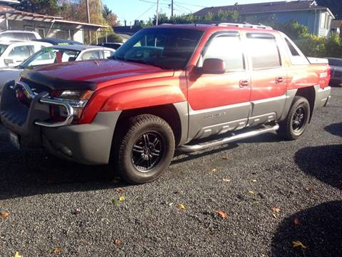 2002 Chevrolet Avalanche for sale in Seattle, WA