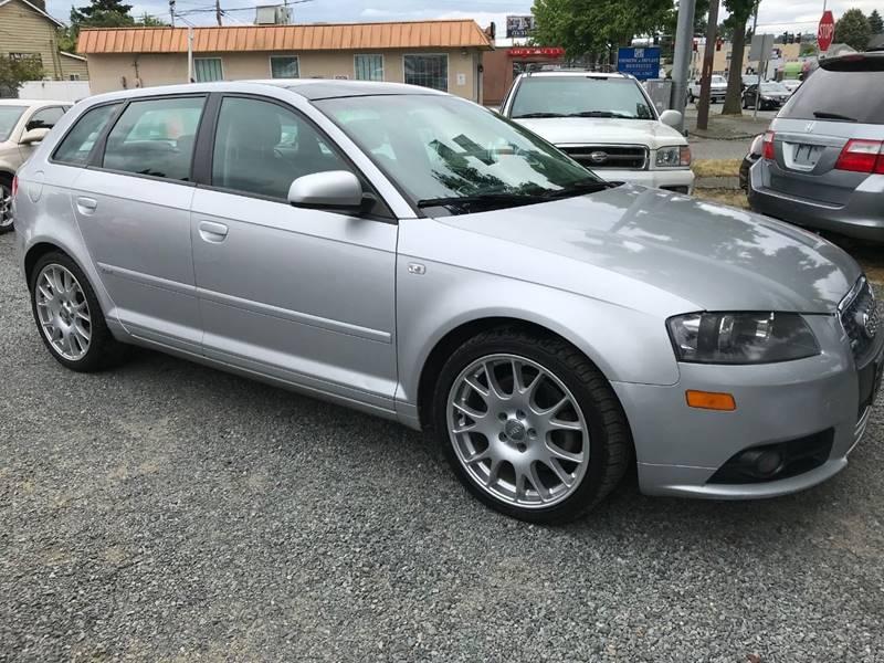 Audi A Quattro In Seattle WA Sport Motive Auto Sales - 2007 audi a3
