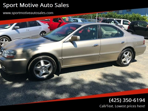 Acura TL For Sale In Canton SD Carsforsalecom - 2003 acura cl for sale