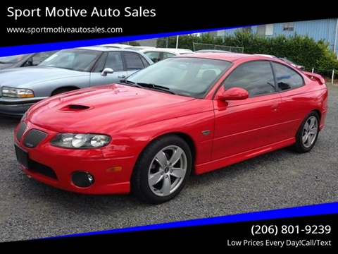 2004 Pontiac GTO for sale in Seattle, WA