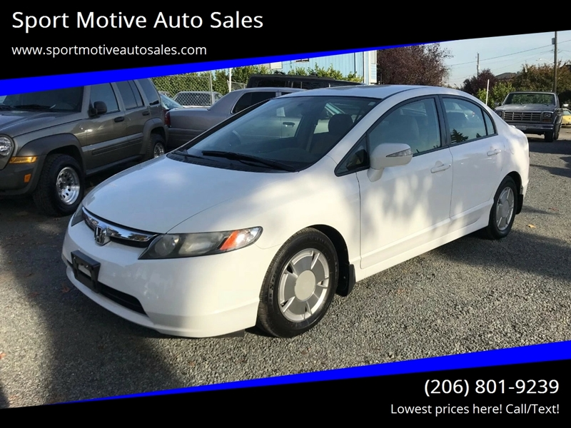 2008 Honda Civic For Sale At Sport Motive Auto Sales In Seattle WA