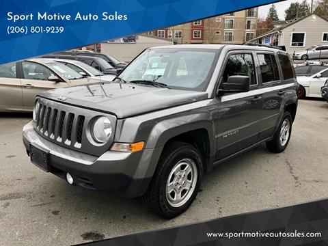 2013 Jeep Patriot for sale in Seattle, WA