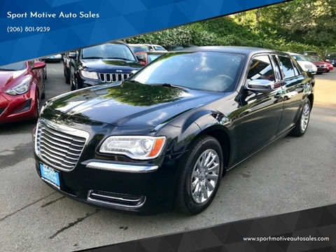 2013 Chrysler 300 For Sale >> 2013 Chrysler 300 For Sale In Seattle Wa