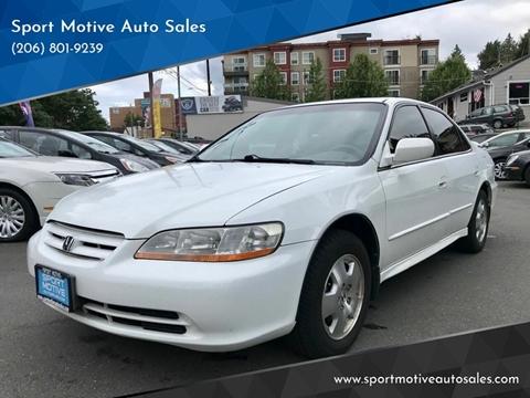 2001 Honda Accord for sale in Seattle, WA
