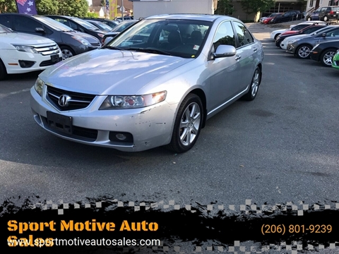 Cars For Sale in Seattle, WA - Sport Motive Auto Sales