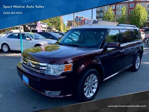 2009 Ford Flex for sale at Sport Motive Auto Sales in Seattle WA