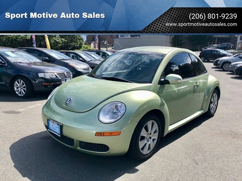 2008 Volkswagen New Beetle for sale in Seattle, WA