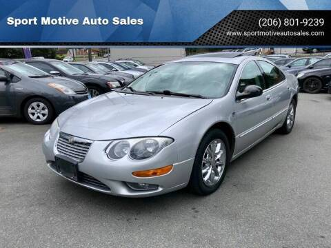 2004 Chrysler 300M for sale at Sport Motive Auto Sales in Seattle WA