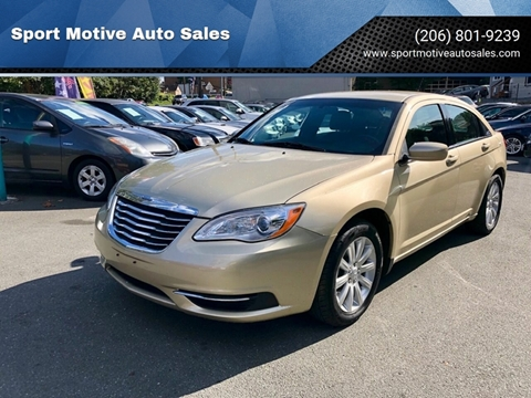 2011 Chrysler 200 for sale in Seattle, WA
