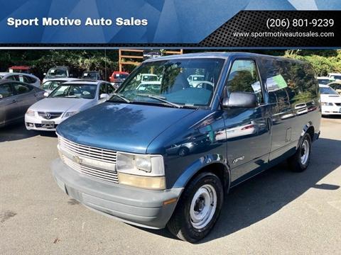 2000 Chevrolet Astro Cargo for sale in Seattle, WA
