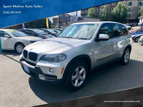 2010 BMW X5 for sale at Sport Motive Auto Sales in Seattle WA