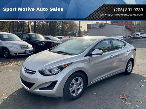 2015 Hyundai Elantra for sale in Seattle, WA