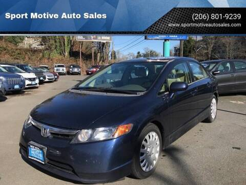 2006 Honda Civic for sale at Sport Motive Auto Sales in Seattle WA
