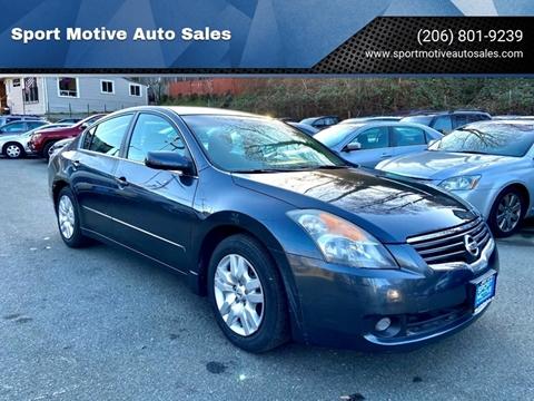 2009 Nissan Altima 2.5 S for sale at Sport Motive Auto Sales in Seattle WA