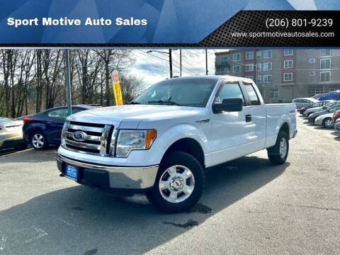 2012 Ford F-150 for sale at Sport Motive Auto Sales in Seattle WA