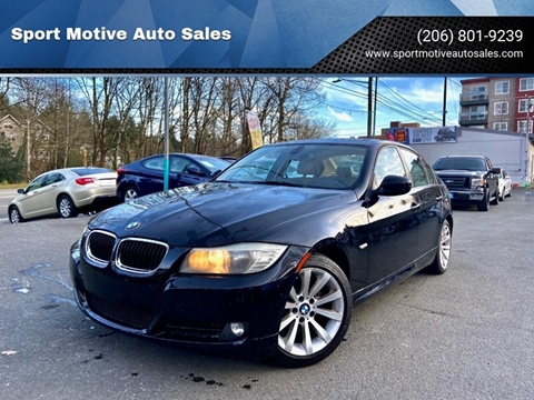 2011 BMW 3 Series 328i for sale at Sport Motive Auto Sales in Seattle WA