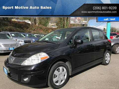 2007 Nissan Versa 1.8 S for sale at Sport Motive Auto Sales in Seattle WA