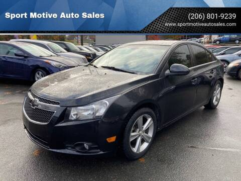 2016 Chevrolet Cruze Limited LS Auto for sale at Sport Motive Auto Sales in Seattle WA