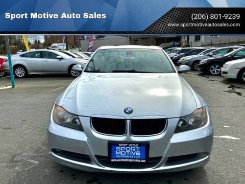 2006 BMW 3 Series 325i for sale at Sport Motive Auto Sales in Seattle WA