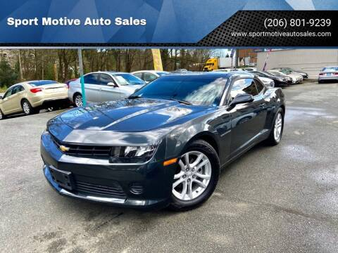 2015 Chevrolet Camaro LS for sale at Sport Motive Auto Sales in Seattle WA
