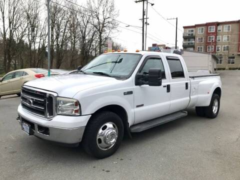 2006 Ford F-350 Super Duty XLT for sale at Sport Motive Auto Sales in Seattle WA