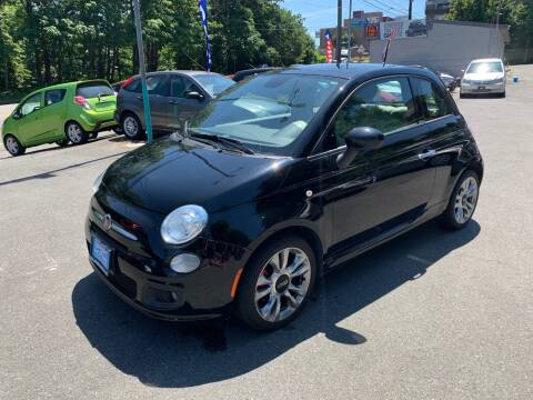 2015 FIAT 500 for sale at Sport Motive Auto Sales in Seattle WA