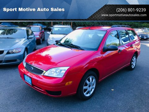 2005 Ford Focus for sale at Sport Motive Auto Sales in Seattle WA