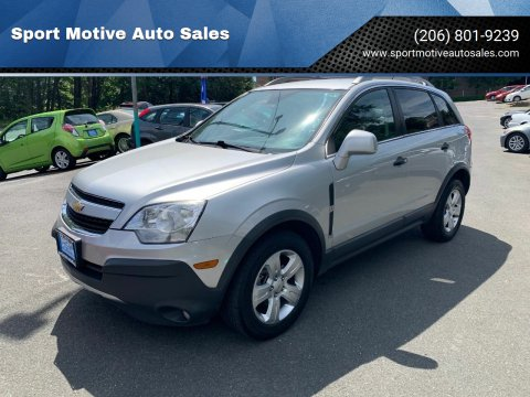 2013 Chevrolet Captiva Sport for sale at Sport Motive Auto Sales in Seattle WA