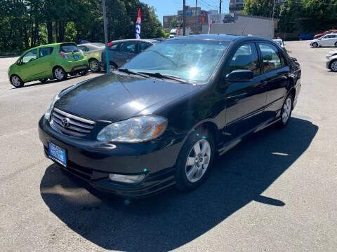 2003 Toyota Corolla for sale at Sport Motive Auto Sales in Seattle WA