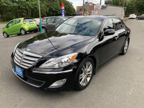 2013 Hyundai Genesis for sale at Sport Motive Auto Sales in Seattle WA