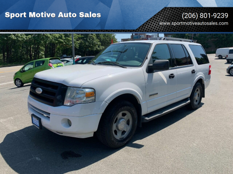 2008 Ford Expedition for sale at Sport Motive Auto Sales in Seattle WA
