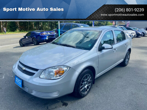 2008 Chevrolet Cobalt for sale at Sport Motive Auto Sales in Seattle WA