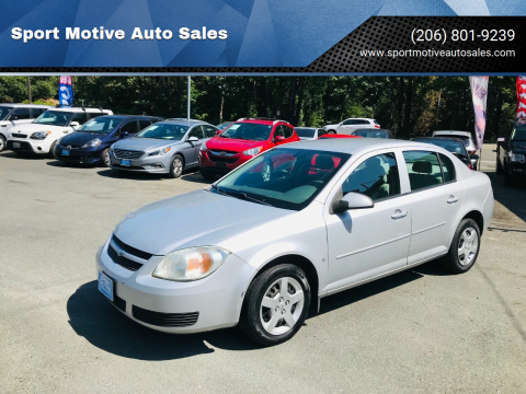 2007 Chevrolet Cobalt for sale at Sport Motive Auto Sales in Seattle WA